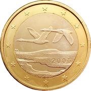 1 euro (1er type, 1ère carte) -  avers