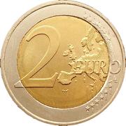 2 euros Indépendance de la Finlande – revers