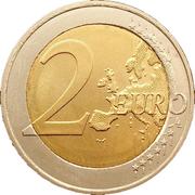 2 euros Droits de l'homme – revers