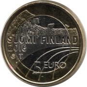 5 euros Athlétisme – avers