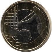 5 euros Athlétisme – revers