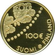100 euros Le mark – avers