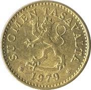 10 penniä -  avers