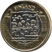 5 euros Kyösti Kallio – avers
