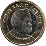 5 euros Kyösti Kallio – revers