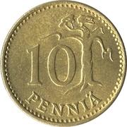 10 penniä – revers