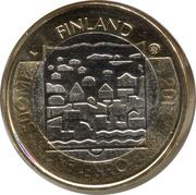 5 euros Carl Gustaf Emil Mannerheim – avers