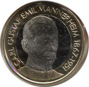 5 euros Carl Gustaf Emil Mannerheim – revers