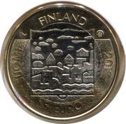 5 euros Juho Kusti Paasikivi – avers