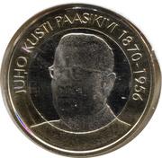 5 euros Juho Kusti Paasikivi – revers