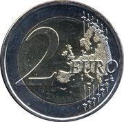 2 euros Nature finlandaise – revers