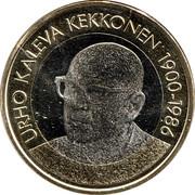 5 euros Urho Kaleva Kekkonen – revers