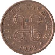 5 penniä – avers