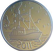 20 euros Mer Baltique (argent 500‰) – revers
