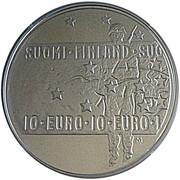 10 euros Le soldat inconnu et l'art du film finlandais – avers