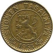 10 markkaa – avers