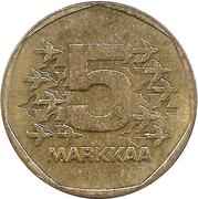 5 markka – revers