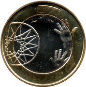 5 euros Basket-ball – revers