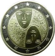 2 euros Réforme parlementaire – avers