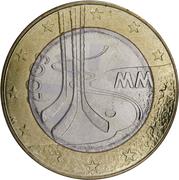 5 euros Hockey sur glace – revers
