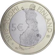 5 euros Parc national de Koli – avers