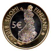 5 euros Massif de Pallastunturi – avers