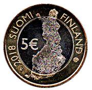 5 euros Punkaharju – avers