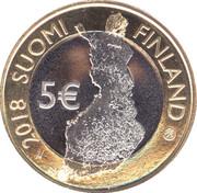 5 euros L'archipel finlandais – avers