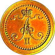 1 Penni 1863 – avers