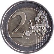 2 euros Sauna Finlandais -  revers