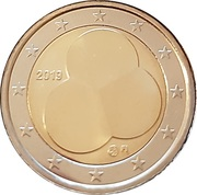 2 euros Constitution finlandaise – avers