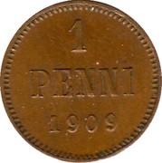 1 penni - Nicholas II – revers