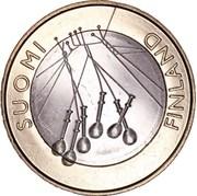 5 euros Satakunta – avers