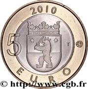 5 euros Satakunta – revers