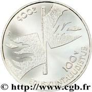 10 euros Réforme parlementaire – avers