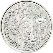 10 euros Mikael Agricola – avers