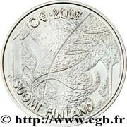 10 euros Mikael Agricola – revers