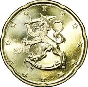 20 cents d'euro (2e type, 2e carte) -  avers