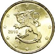 10 cents d'euro (2e type, 2e carte) – avers