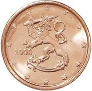 2 cents d'euro (1er type) -  avers