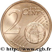 2 cents d'euro (1er type) – revers