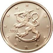 2 cents d'euro (2e type) – avers