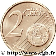 2 cents d'euro (2e type) – revers