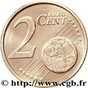 2 cents d'euro (2e type) – revers