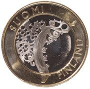 5 euros Finlande du Sud-Ouest – avers
