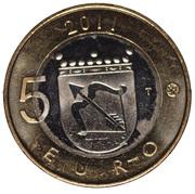 5 euros Savonie – revers