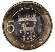 5 euros Häme – revers