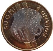 5 euros Uusimaa – avers