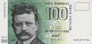 100 Markkaa Type 1986 Litt. A – avers