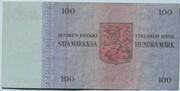 100 Markkaa – revers
